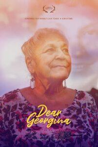 Georgina Sappier-Richardson in poster for Dear Georgina film